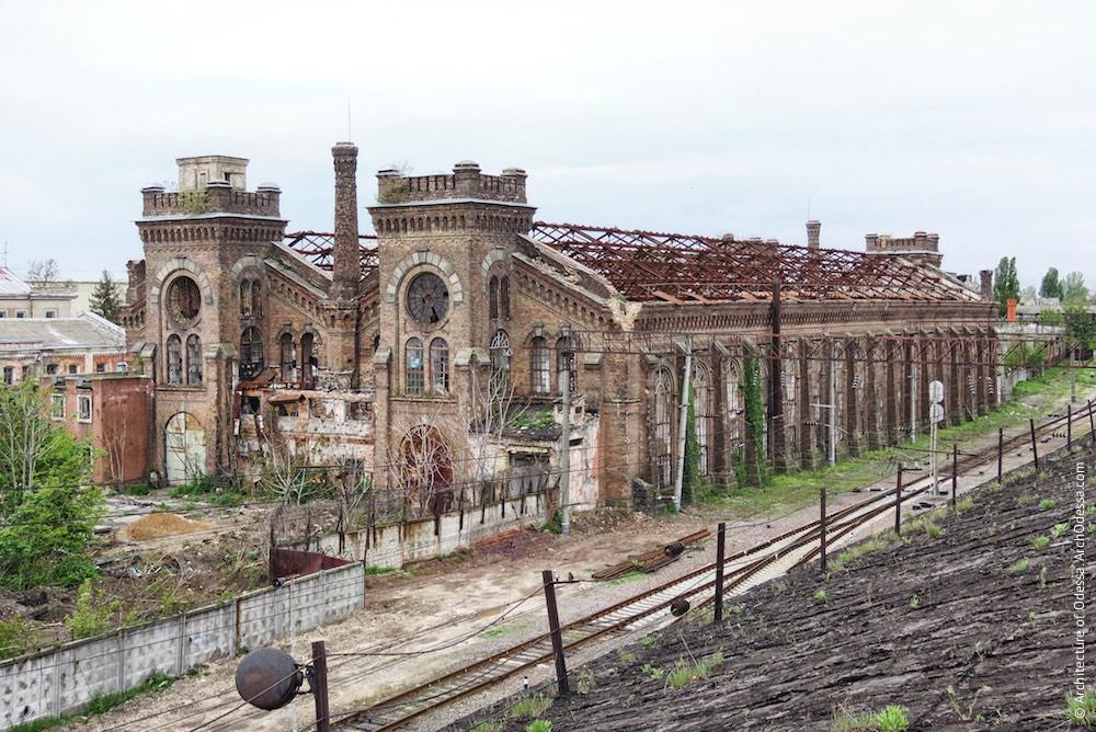 Загальний вигляд з даху старого паровозного депо