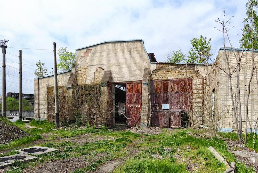 Краян. Старое паровозное депо. Архитектура Одессы
