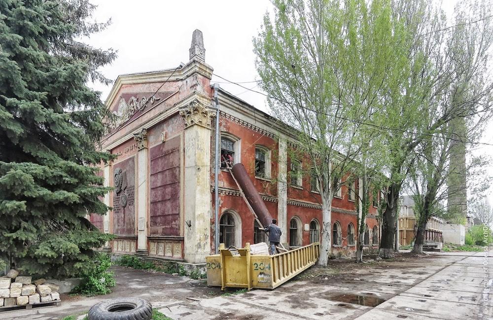 Краян. Старый административный корпус и заводоуправление. Архитектура Одессы