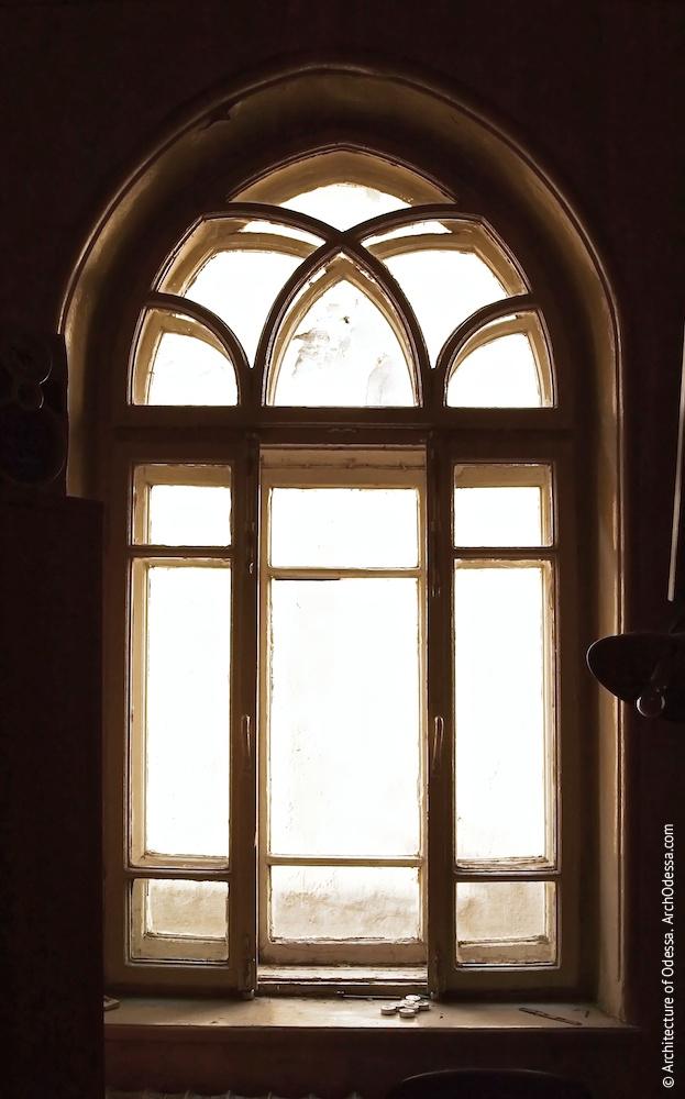 Віконна палітурка, вигляд з приміщення