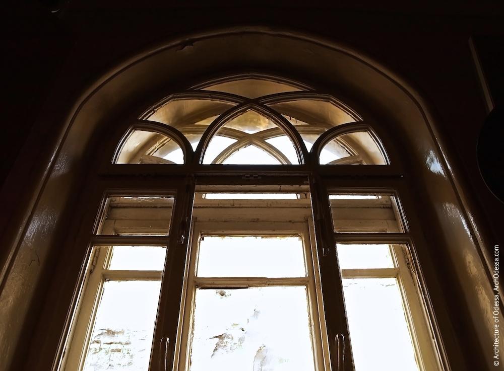 Віконна палітурка, фрагмент, вигляд з приміщення