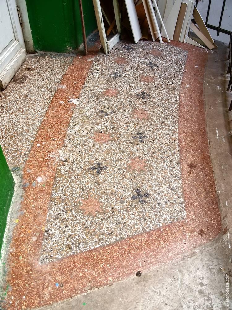 Бетоно-мозаїчний майданчик