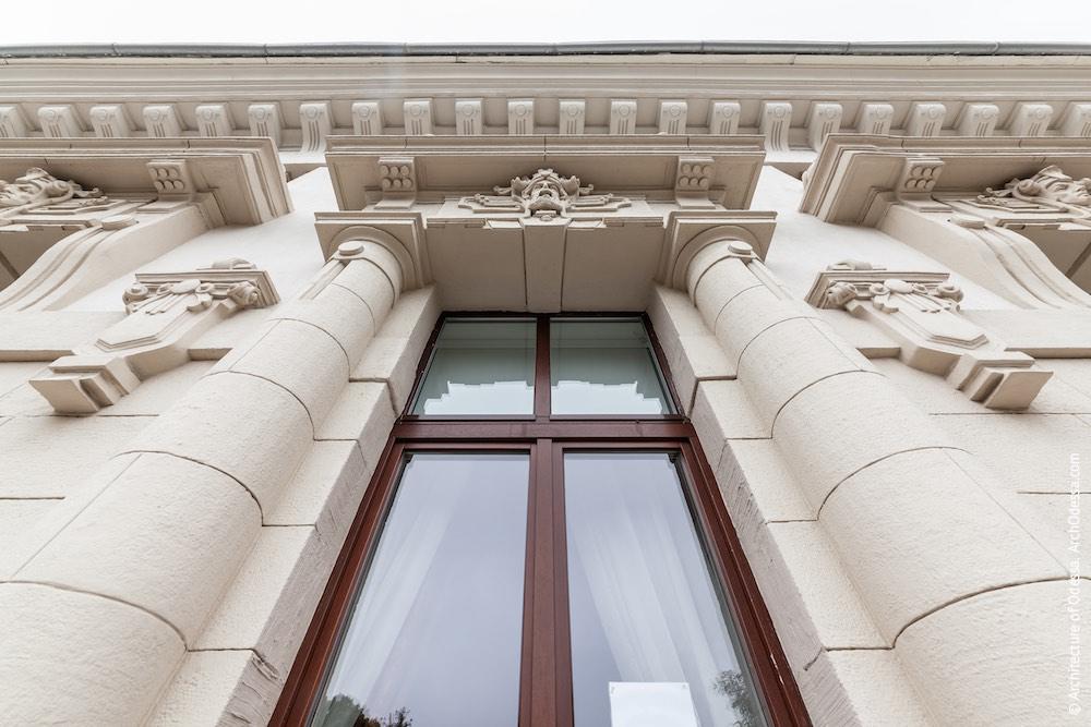 Вигляд центрального отвору з балкона