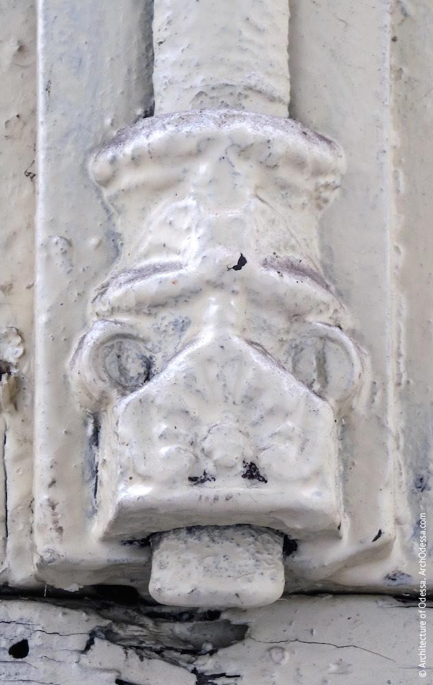 Обкладинка світлового вікна, деталь