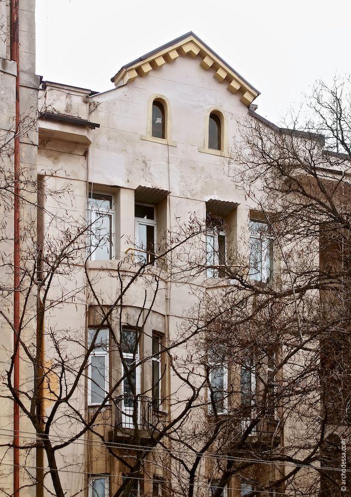 Marazlievskaya, 14b. Maison de rapport J. A. Nahum. L'architecture d'Odessa. Histoire d'Odessa. Tourisme à Odessa. Ukraine