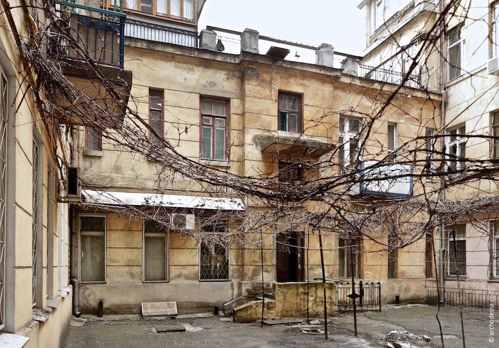 Marazlievskaya, 14b.Maison de rapport de J. A. Nahum. L'architecture d'Odessa. Histoire d'Odessa. Tourisme à Odessa. Ukraine