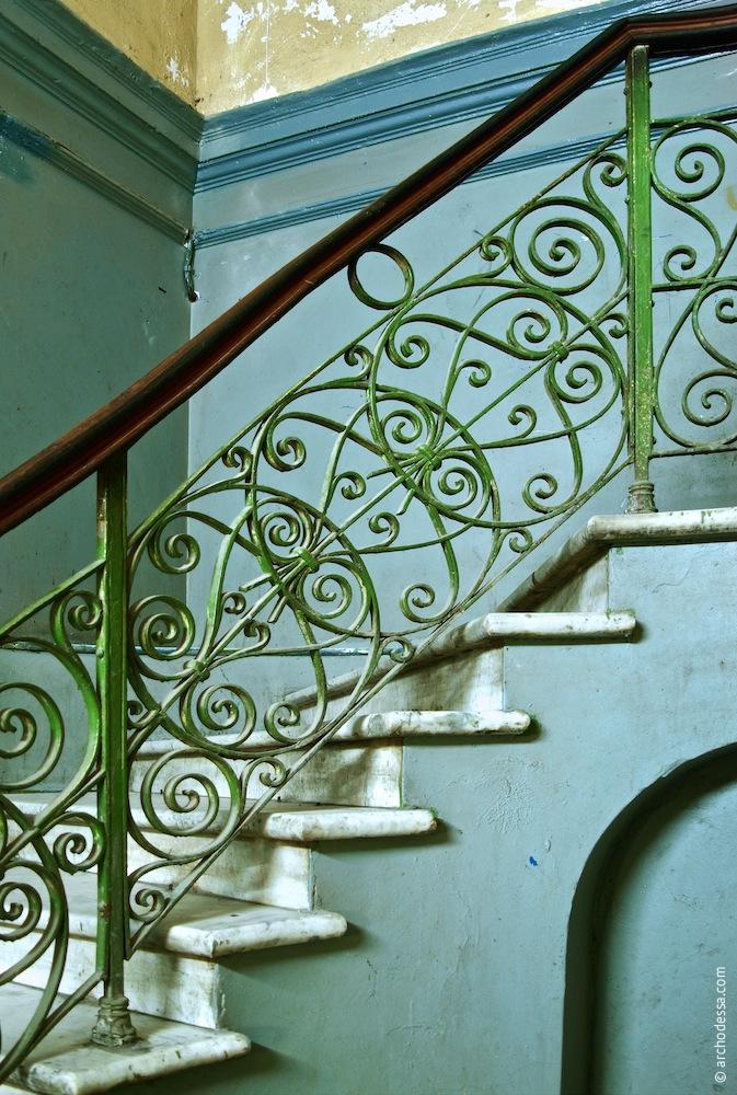 Geländer des Treppenlaufs