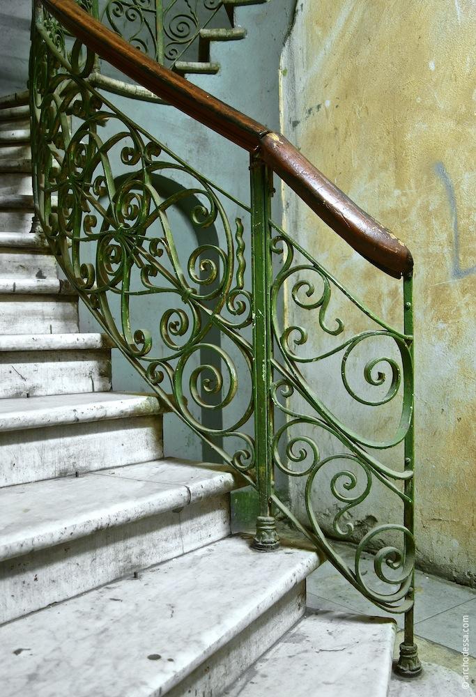Treppenlauf im Hochparterre