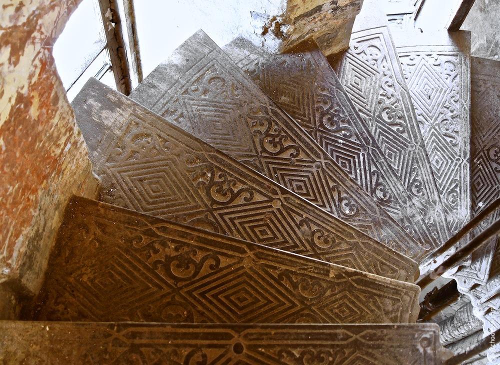 Dekor der Treppenstufen