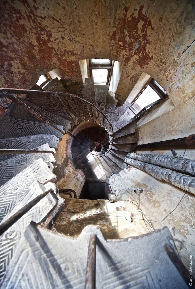 Treppenauge, Ansicht von oben