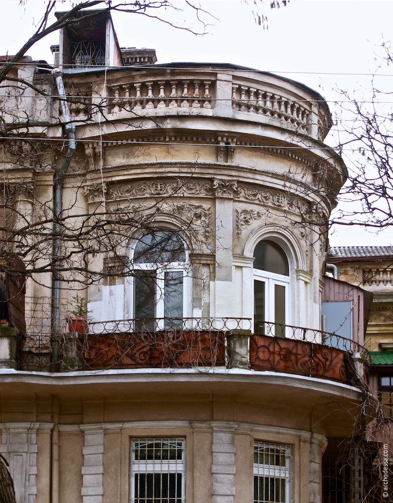 Eckteil der Villa