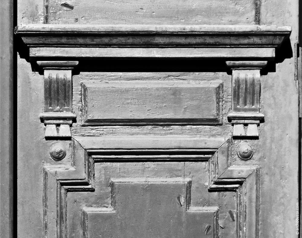Türflügel, Dekor des oberen Teils