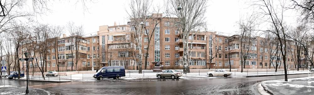 1a Marazlievskaya Street. Apartment house of NKVD workers. Architecture of Odessa. History of Odessa. Tourism in Odessa. Architecture in Ukraine.