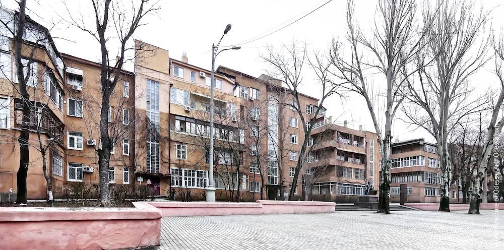 1a Marazlievskaya Street. Apartment house of NKVD agents. Architecture of Odessa. History of Odessa. Tourism in Odessa. Architecture in Ukraine.