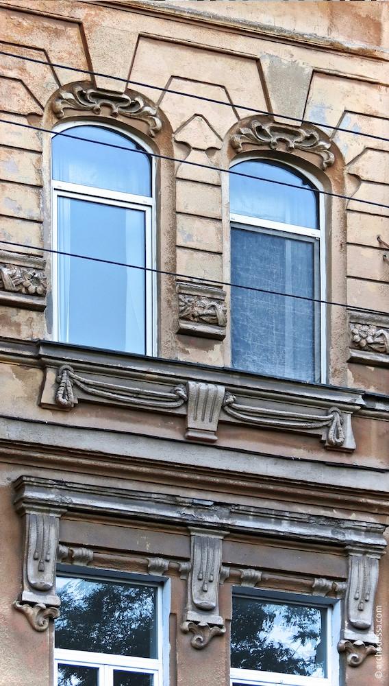 Fenster zur Marazlijewskaja-Straße