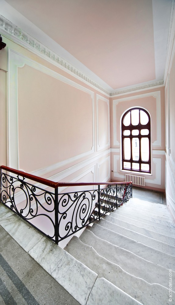 Treppenabsatz im 3. Stock