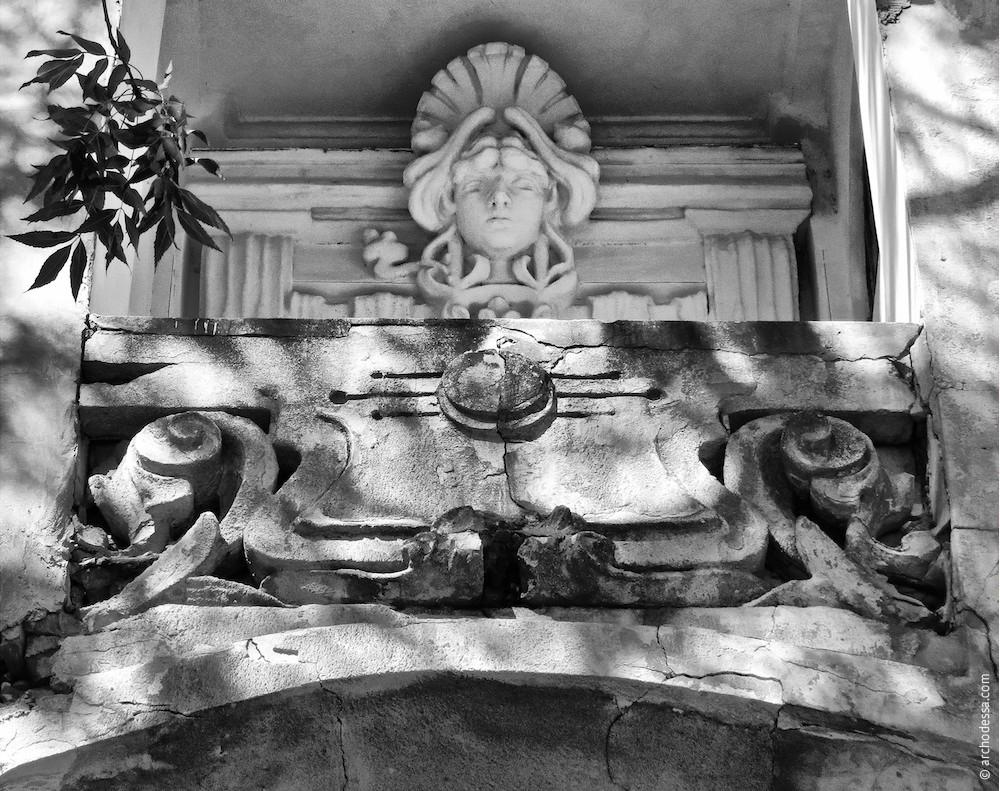 Balkonbrüstung aus Stein