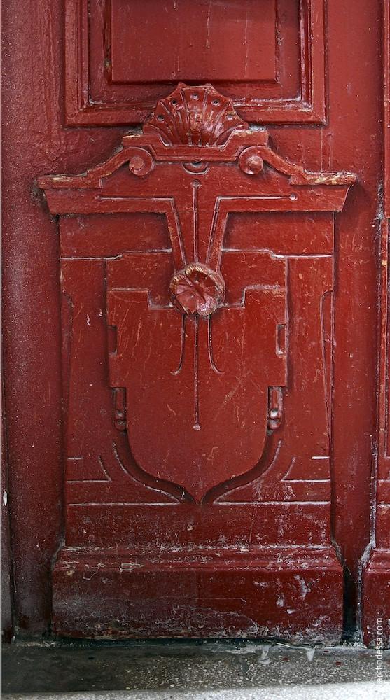Türflügel, unterer Teil