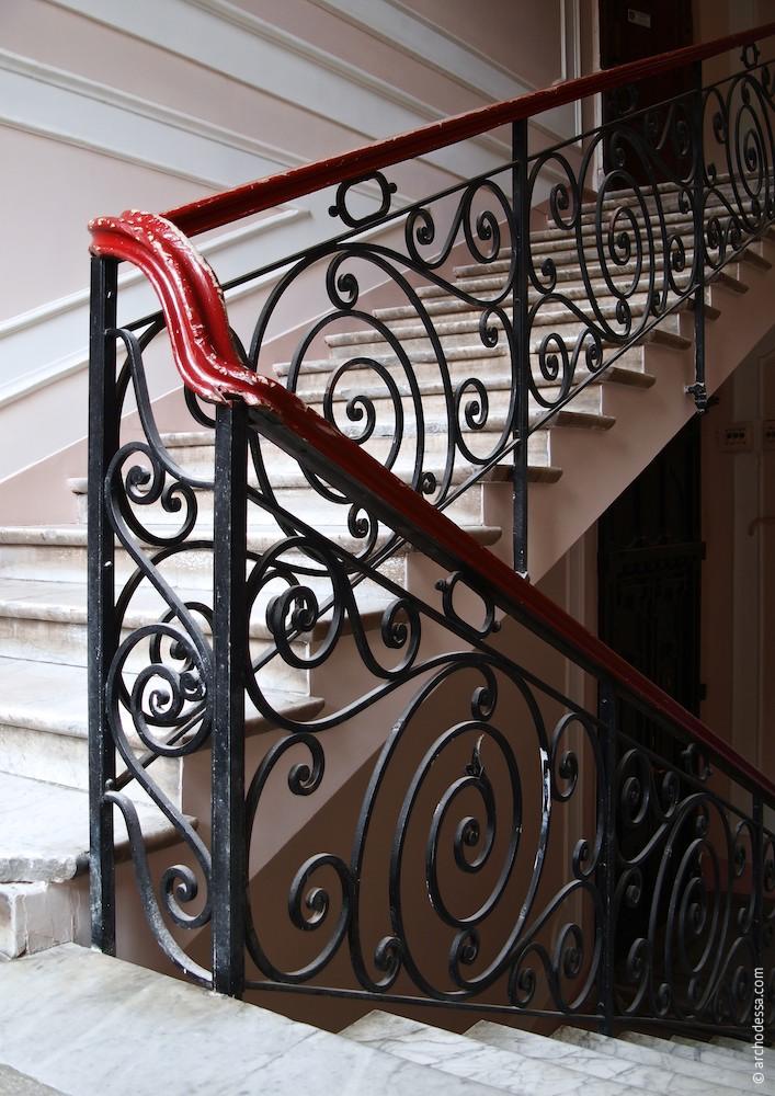 Treppenlaufgeländer, Gesamtansicht