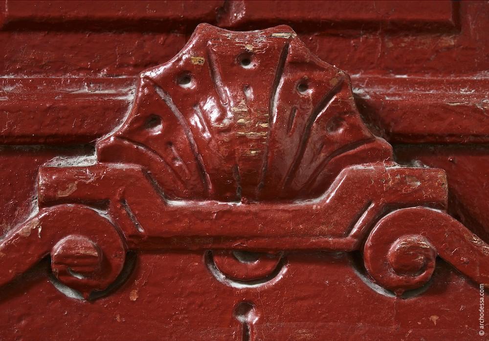 Türflügel, unterer Teil, ein Ausschnitt