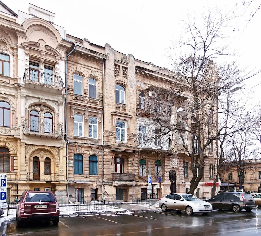 Straßenfassade Marazlijewskaja-Straße