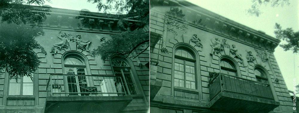 Villa Mendelewitsch in der Marazlijewskaja-Straße 28