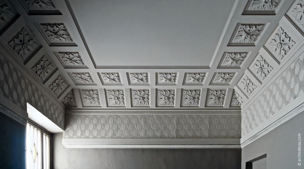 Ansicht vom Treppenabsatz im oberen Stockwerk