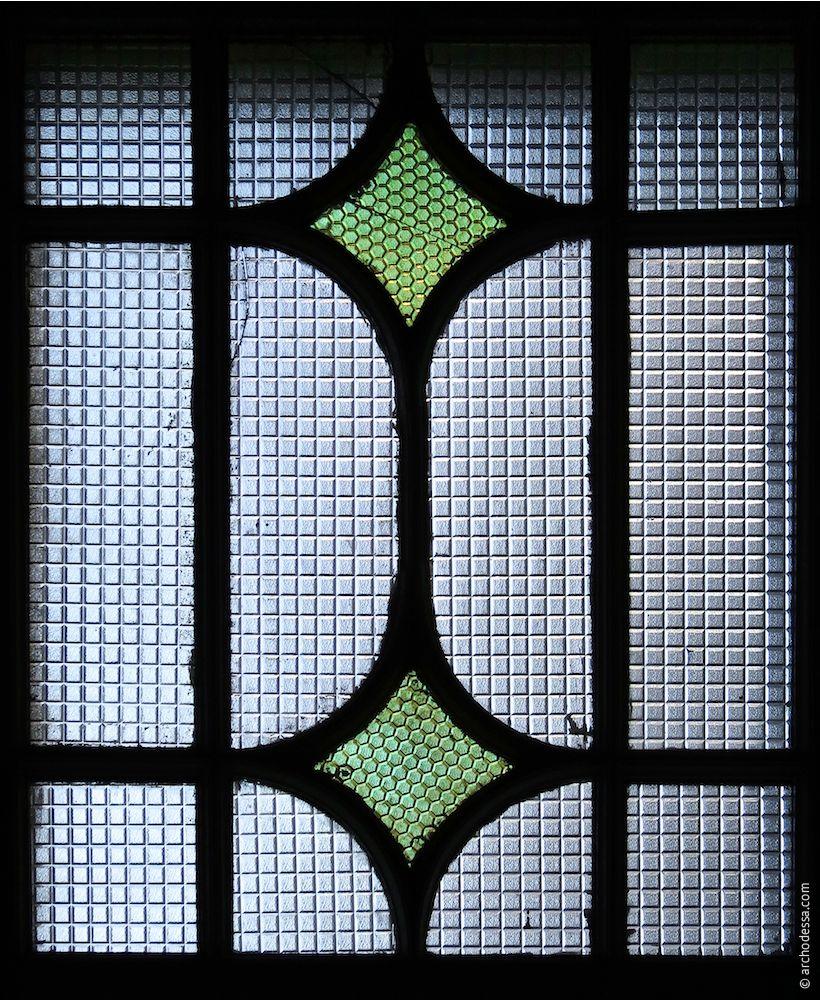 Fenstermosaik, ein Ausschnitt