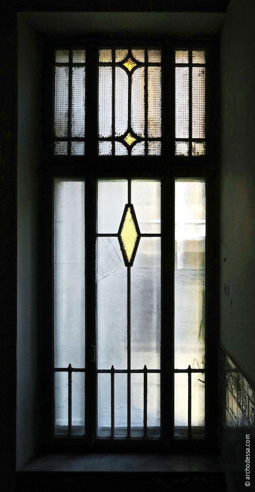 Treppenhausfenster