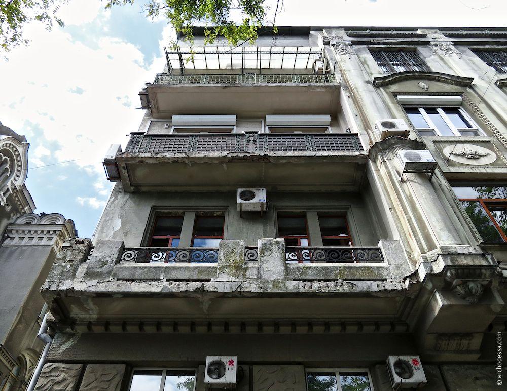 Fassade Marazlijewskaja-Straße, perspektivische Ansicht