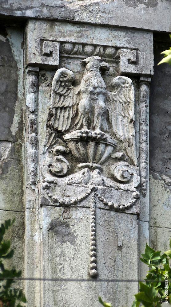 Adler-Flachrelief