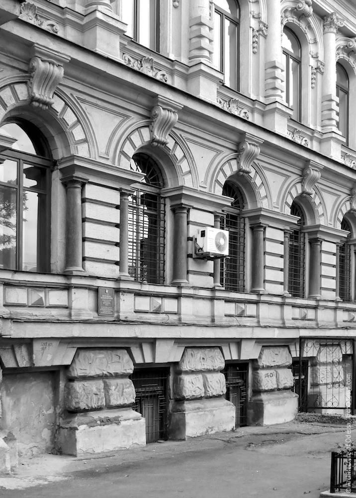 Маразлиевская, 4. Доходный дом Озмидова. Архитектура Одессы. История Одессы. Туризм в Одессе. Архитектура в Украине.