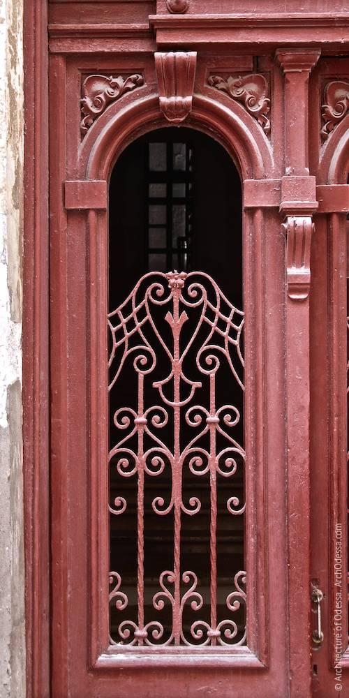 Проем створки двери