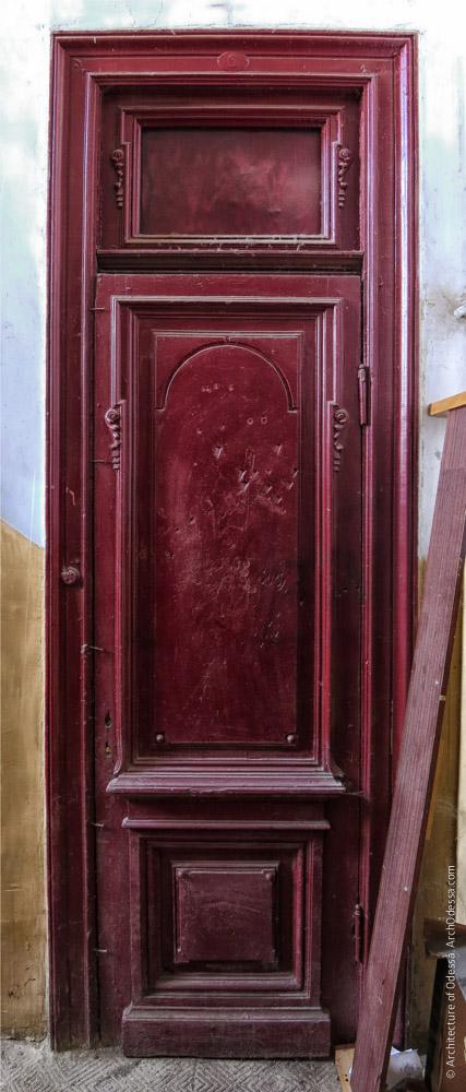 Квартирная дверь (одностворочная версия)