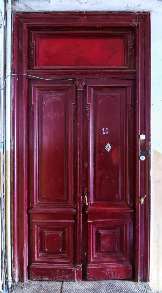 Квартирная дверь (двухстворочная версия)