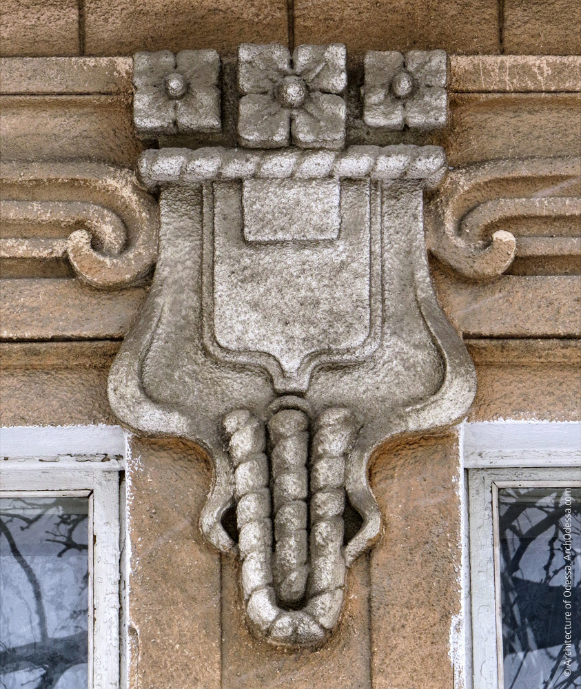 Геральдичний елемент центральної частини сандрика