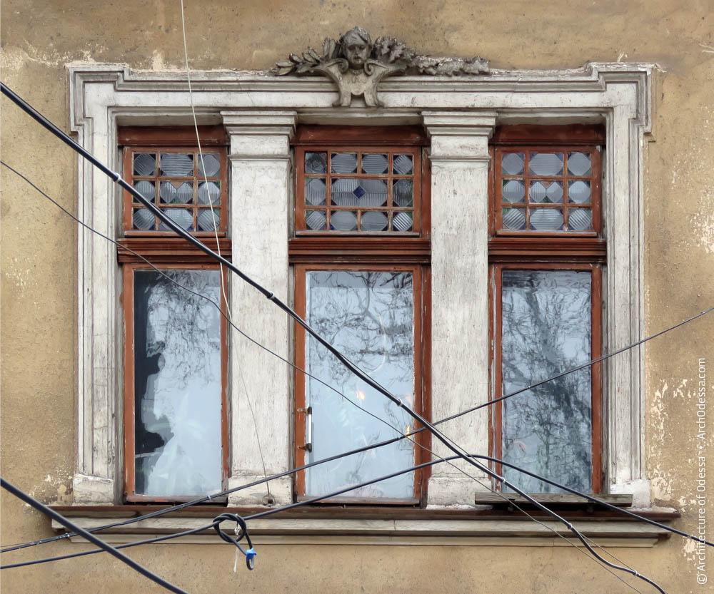 Трехдольное окно