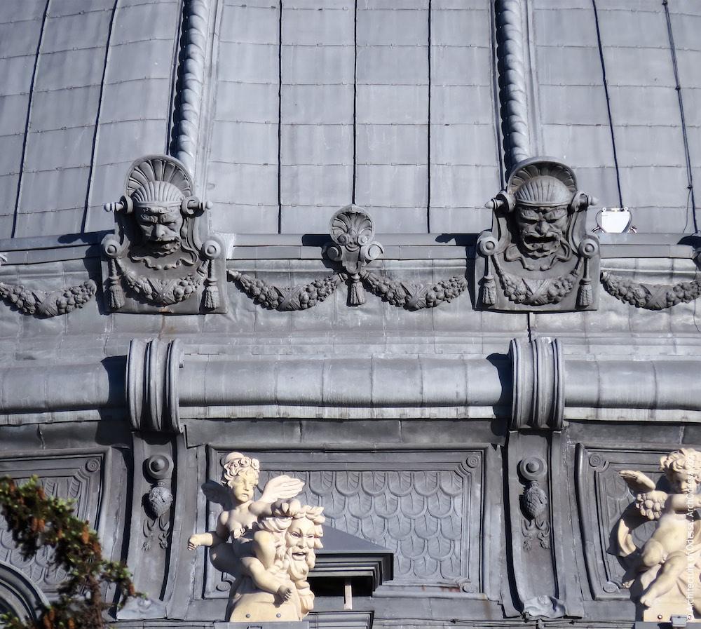 Купол, фрагмент декоративной отделки основания