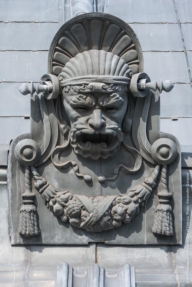 Купол, деталь декоративной отделки основания. Фото: А. Гиманов