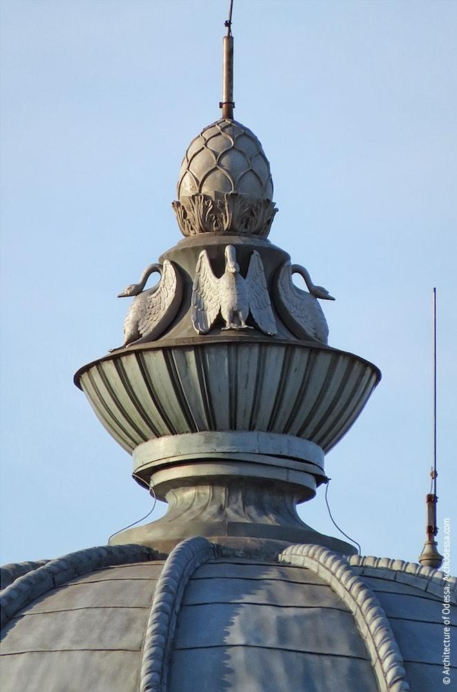 Купол, венчающая деталь фонаря