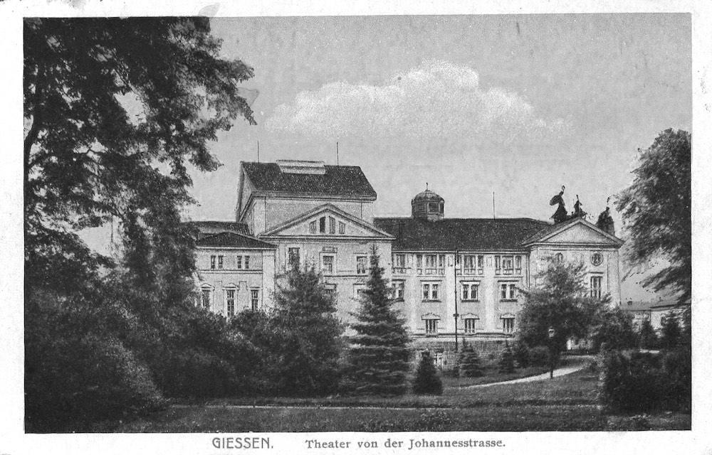 Городской театр, Гиссен, Германия (1907)