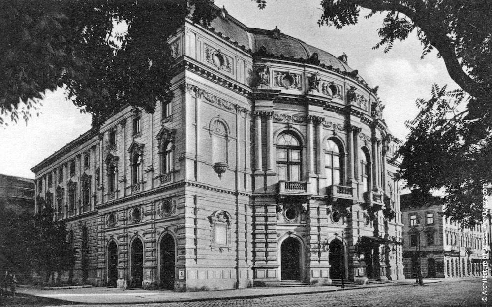 Театры Г. Гельмера и Ф. Фельнера. Одесский национальный академический театр оперы и балета. Архитектура Одессы