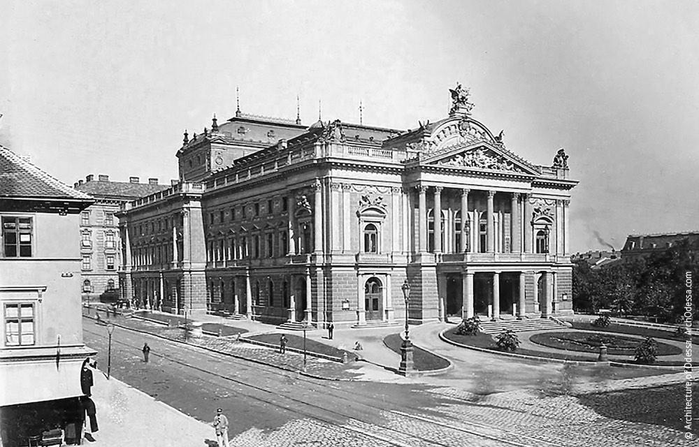 Немецкий городской театр, Брно, Чехия (1882)