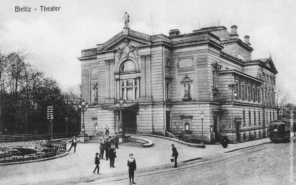 «Юбилейный Городской театр», Бельско-Бяла, Польша (1909)