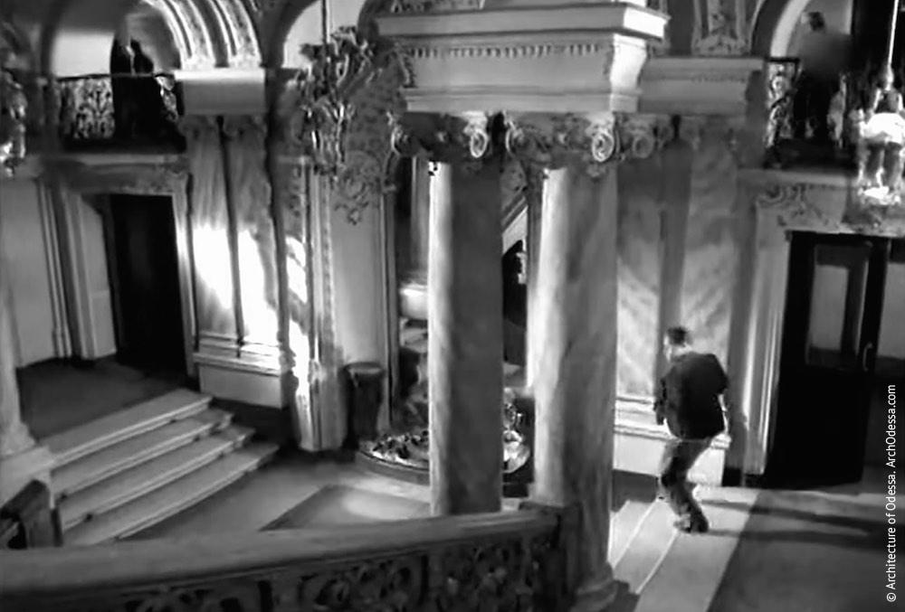 Вид со второго пролета, кадр из фильма «Страницы былого», 1957 г.
