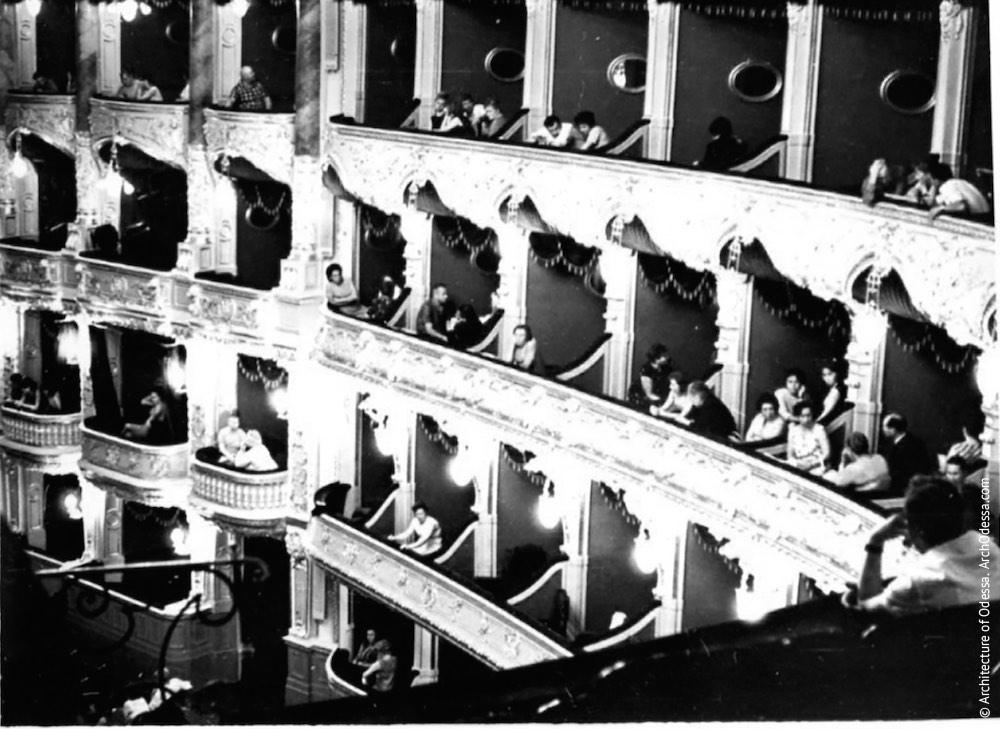 Вид правосторонних галерей, 1970-е г.г.
