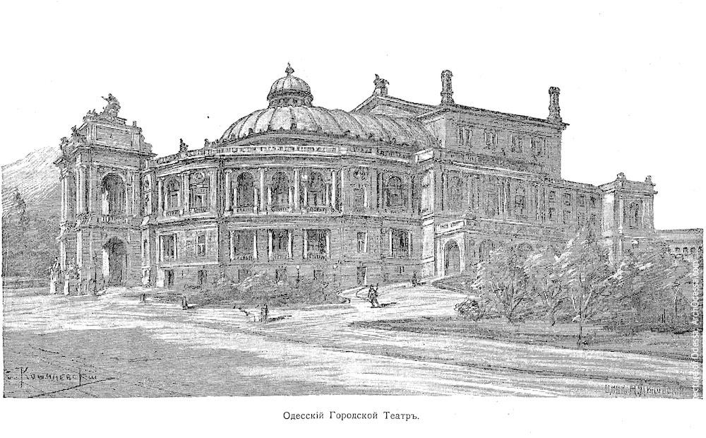 Иллюстрация из справочника «Вся Одесса» за 1899 г.