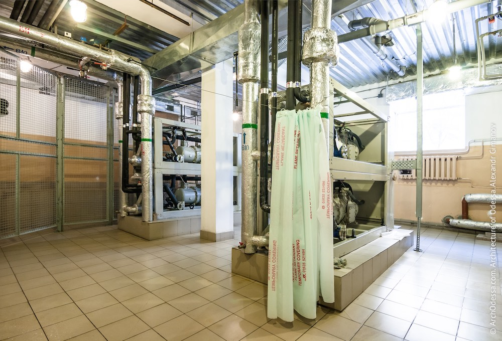 Система центрального охлаждения внутренних помещений театра. Фото: А. Гиманов