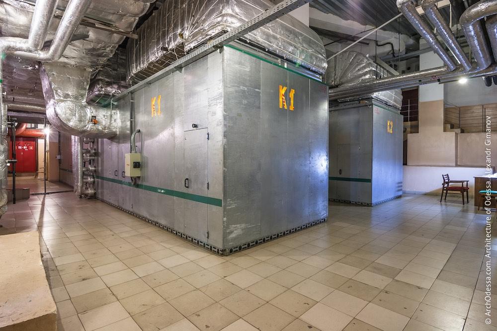 Вентиляционно-охладительные компрессоры. Фото: А. Гиманов