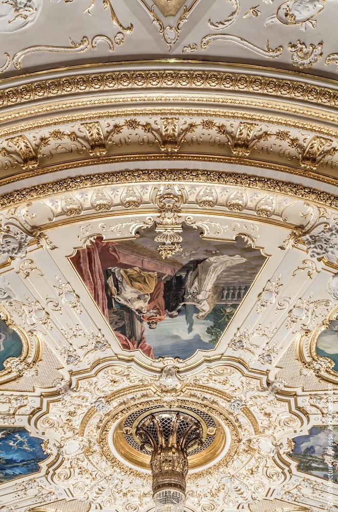 Плафон потолка, фрагмент